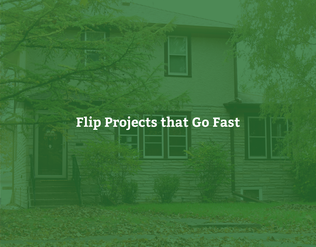 Flip Projects that Go Fast